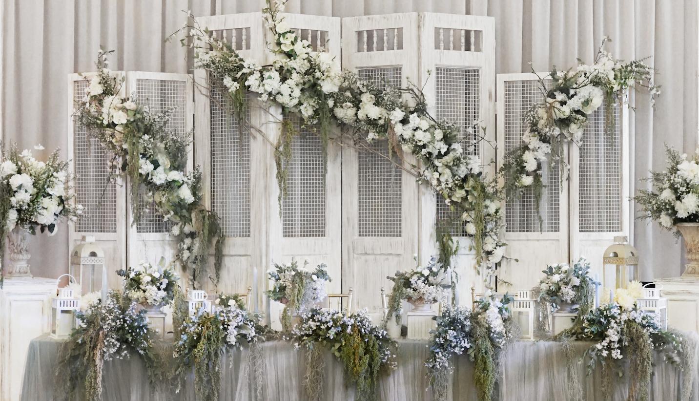 Posh decoration home weddings junglespirit Choice Image